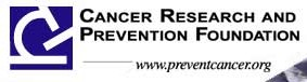 Cancer Research and Prevention Foundation